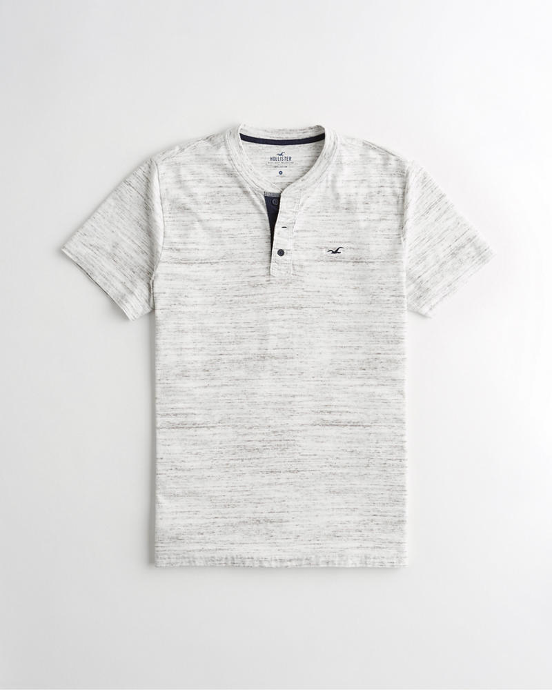 1fc8fa0162869 Guys Must-Have Henley T-Shirt   Guys Tops   HollisterCo.com