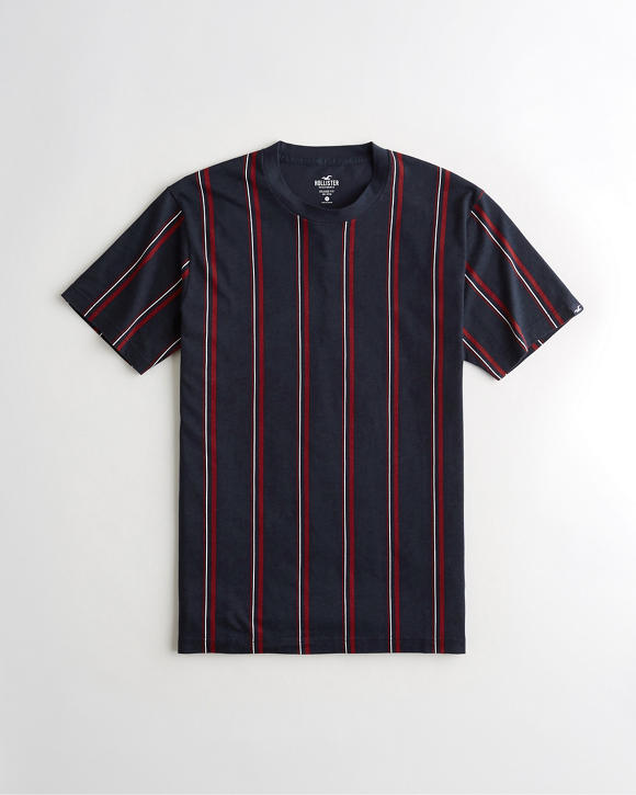 Relaxed Stripe T Shirt by Hollister