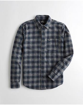 502184b2813 Plaid Flannel Slim Fit Shirt
