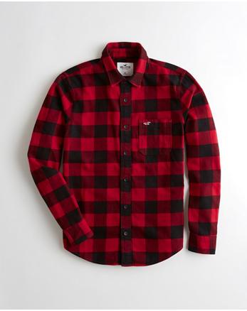 button down shirts hollister co