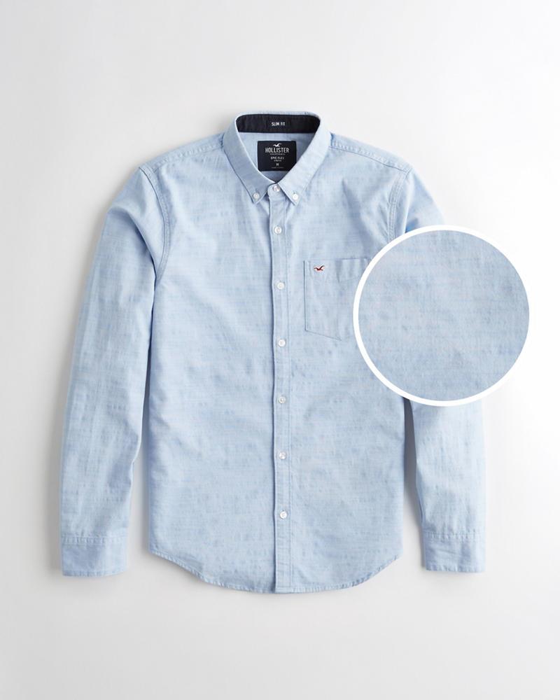 4c5aad72d5b Guys Stretch Oxford Slim Fit Shirt