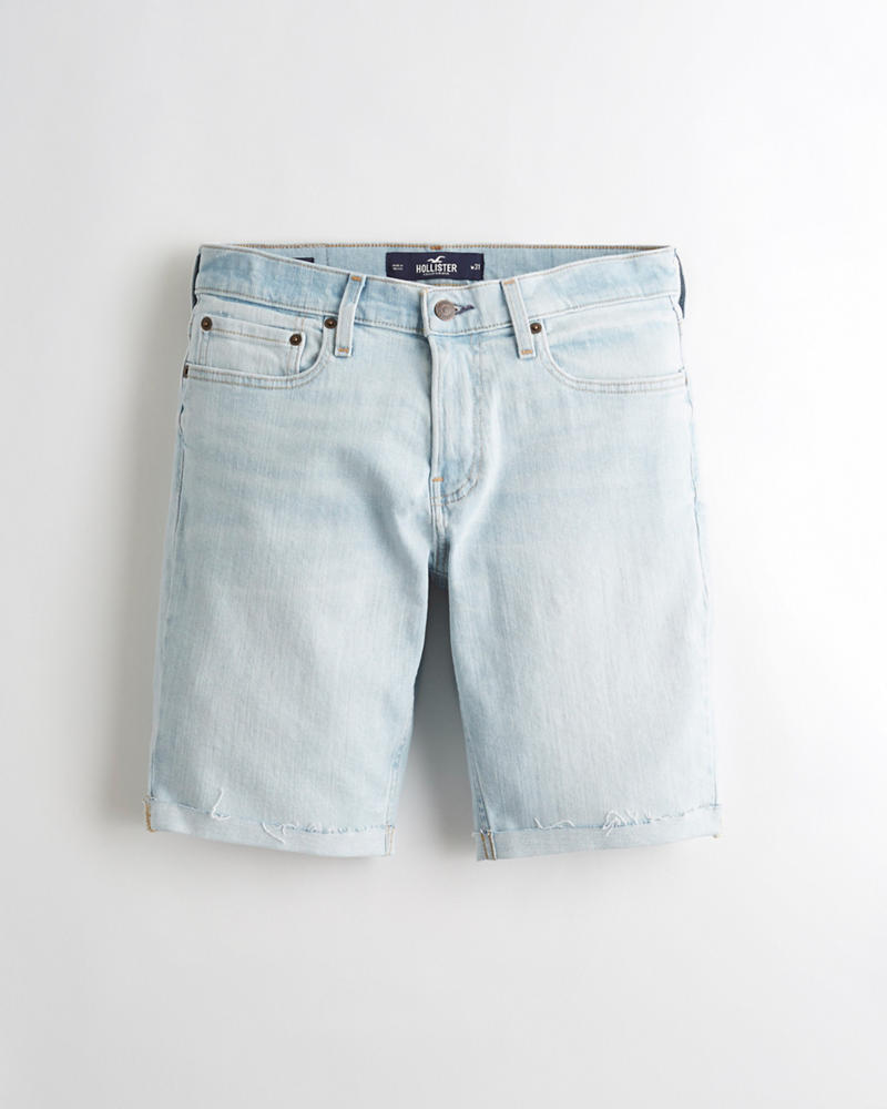 fa9083143 Chicos Short de denim ajustado con Hollister Epic Flex de 9 ...