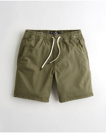 c8ebaa8738 Hollister Epic Flex Beach Prep Jogger Short 7 in., OLIVE