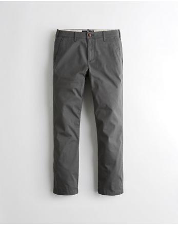 dac5a6688f34 Slim Straight Hose mit Hollister Epic Flex, DUNKELGRAU