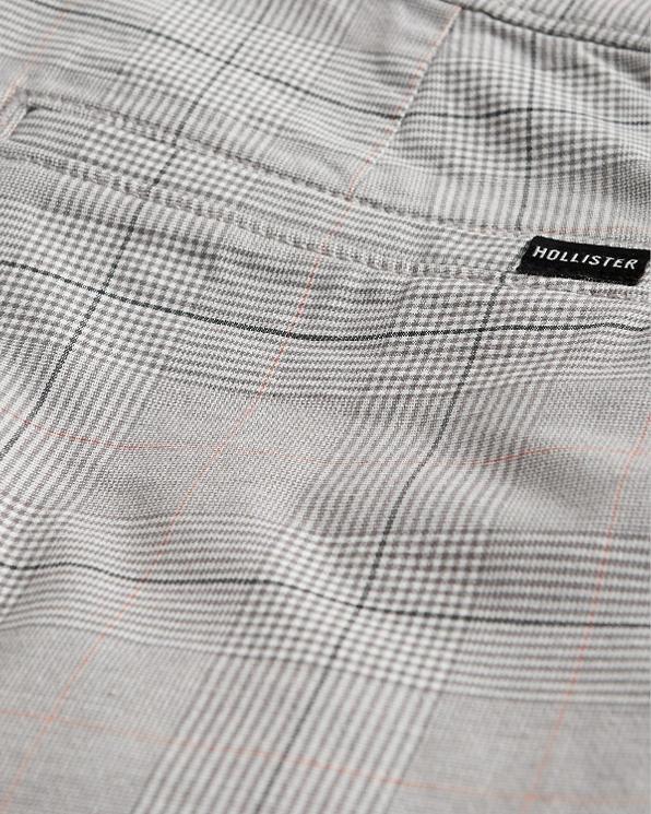 Guys Hollister Epic Flex Crop Taper Pants   Guys Bottoms