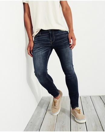 Advanced Stretch Extreme Skinny Jeans, Dark Wash