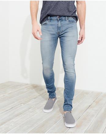 Advanced Stretch Extreme Skinny Jeans, Faded Medium Wash