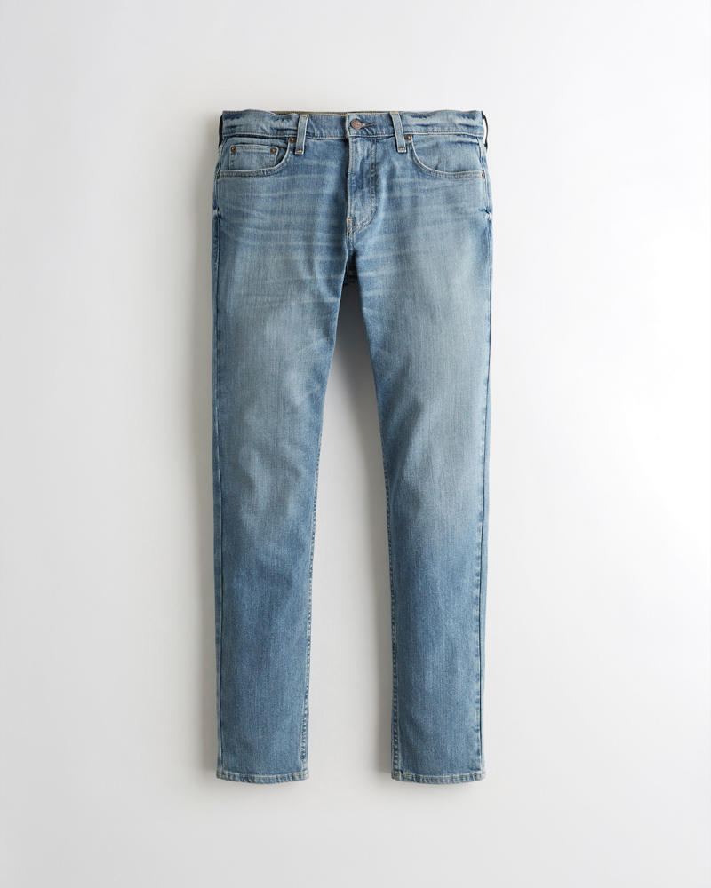 Guys Hollister Epic Flex Skinny Jeans | Guys Bottoms