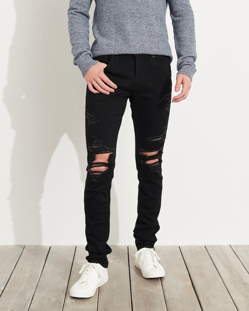 231ea1d53243ce Guys Advanced Stretch Stacked Skinny Jeans | Guys Bottoms ...