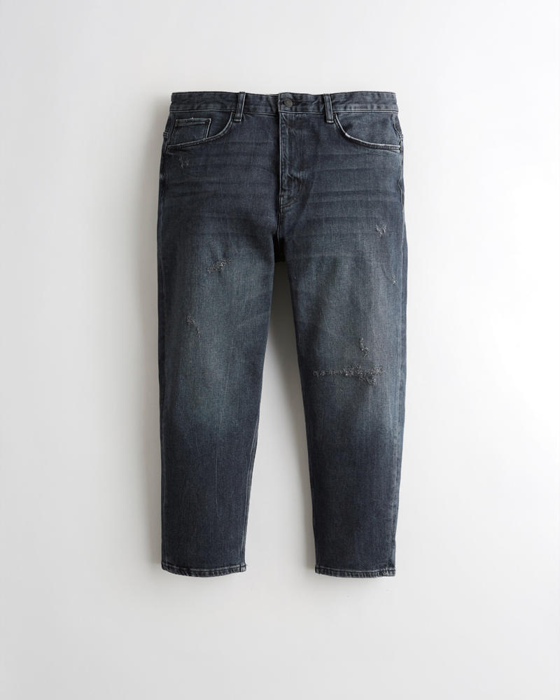 Guys Hollister Epic Flex Crop Relaxed Dad Jeans Guys Sale