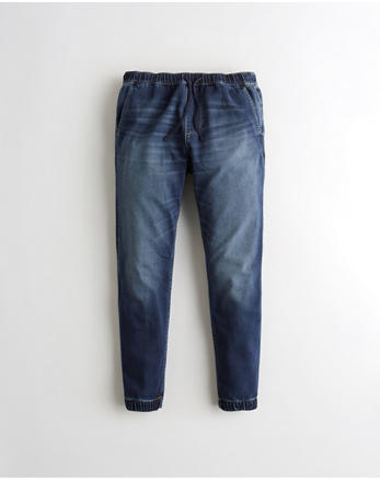 59cdd2cff Just Like Knit Jogger Pants, DARK WASH