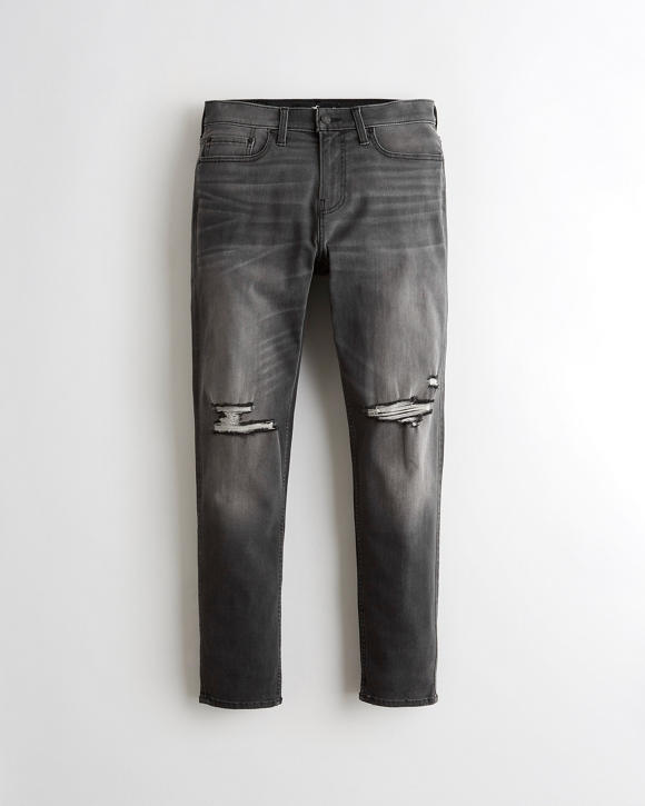 Advanced Stretch Athletic Skinny Jeans by Hollister