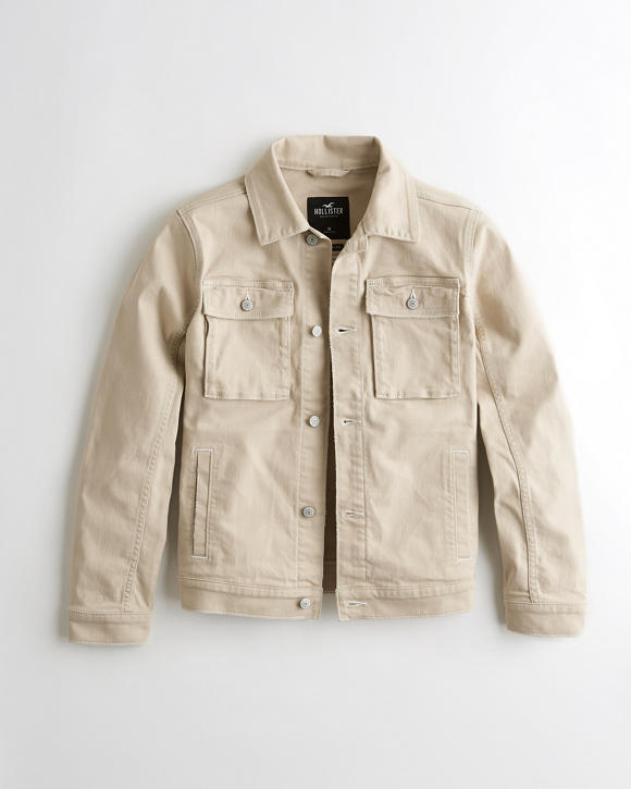 Denim Utility Jacket by Hollister