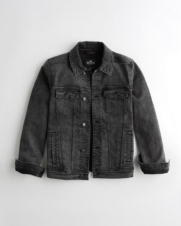 Stretch Denim Jacket by Hollister