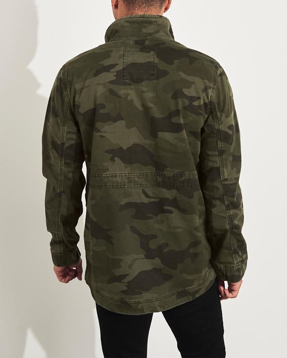 41d44827944ce Guys Camo Twill Utility Jacket   Guys Jackets & Coats   HollisterCo.com