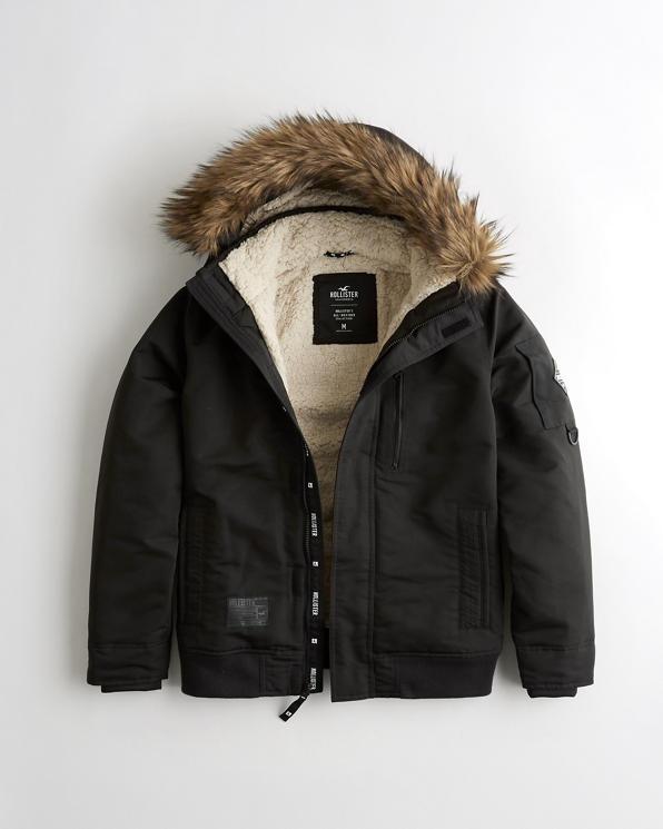Guys Sherpa-Lined Bomber Jacket | Guys HCo Guys NWU