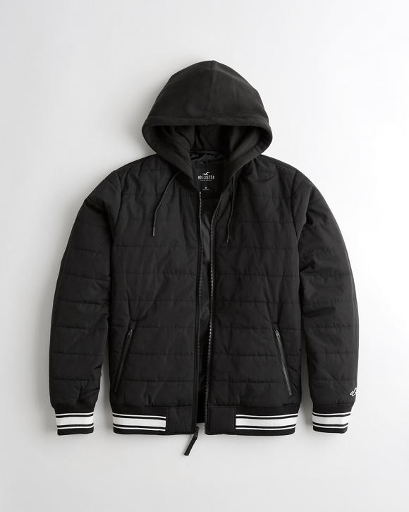 Guys Bomber Jackets Hollister Co