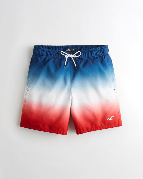 Guard Fit Swim Trunks 5 In. by Hollister