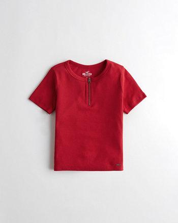 3de56c30a7fa Half-Zip T-Shirt