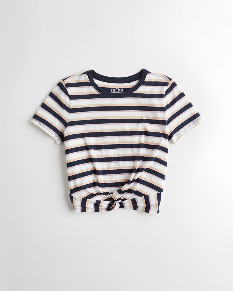 T-shirts, Tops & Shirts Qualified Hollister Ladies T-shirt S Boys' Clothing (2-16 Years) 8