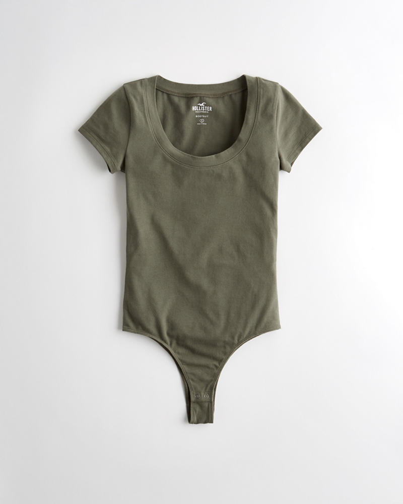 c16d227d0 Girls Scoop Bodysuit | Girls Tops | HollisterCo.com