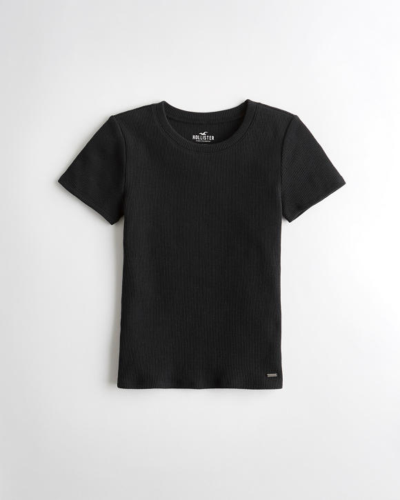 waffle-baby-t-shirt by hollister
