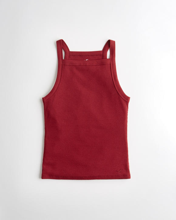 High Neck Cami by Hollister