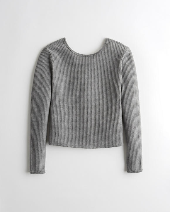 Twist Back Top by Hollister