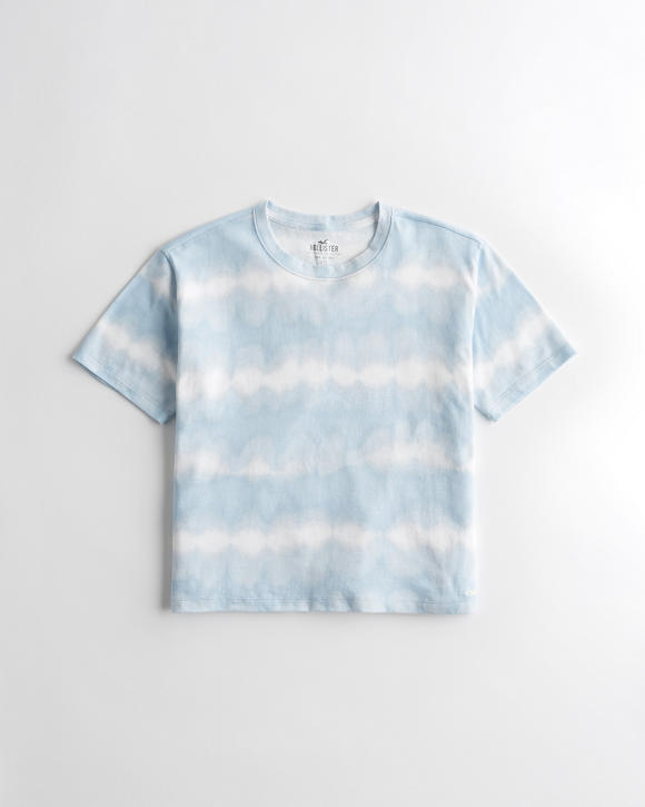 Tie Dye Crewneck T Shirt by Hollister
