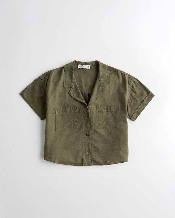Camp Shirt by Hollister
