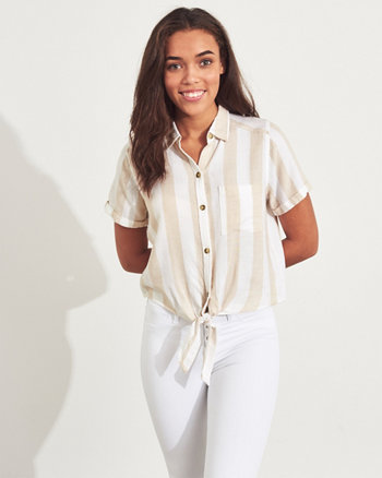 eb338648c69 Girls Shirts & Blouses | Hollister Co.