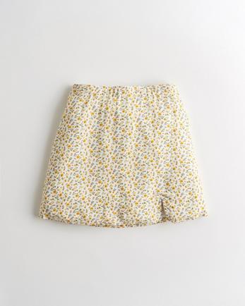 홀리스터 Hollister Ultra High-Rise A-Line Mini Skirt