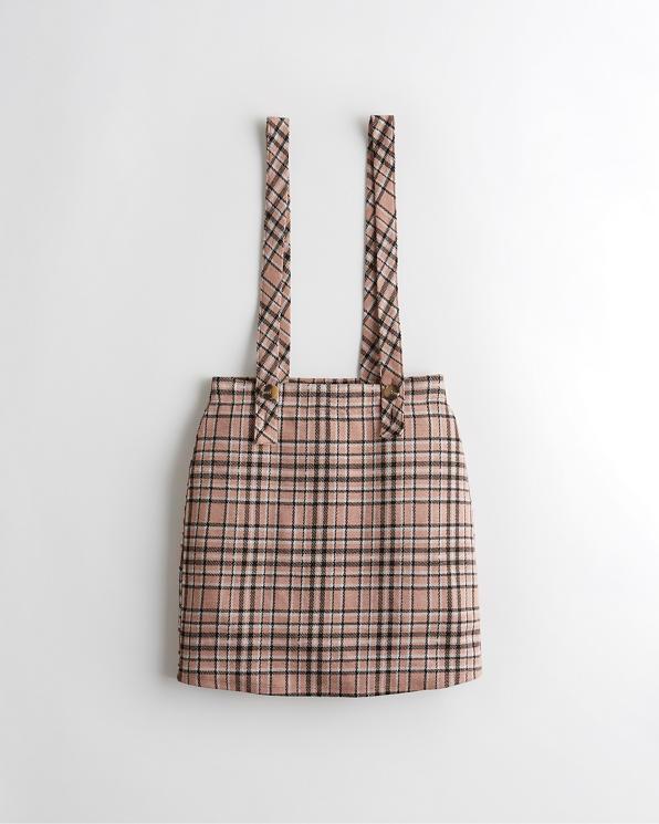 latest releases rock-bottom price hot product Girls Ultra High-Rise Suspender Skirt | Girls Sale ...