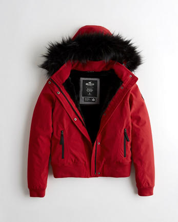 Winterjacke damen hollister