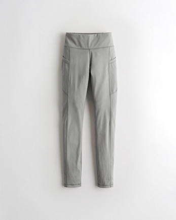 홀리스터 7/8 레깅스 Hollister Gilly Hicks Go Energize High-Rise 7/8 Leggings,GREY