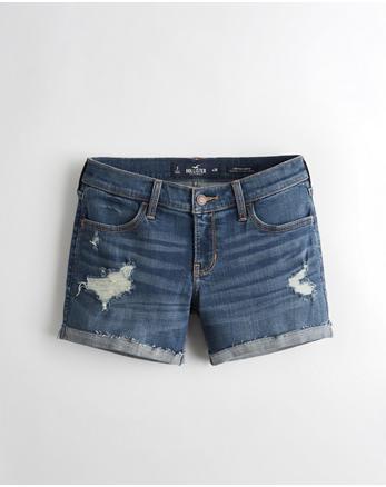 b60cf461685 Shorts. Advanced Stretch Low-Rise Denim Short ...