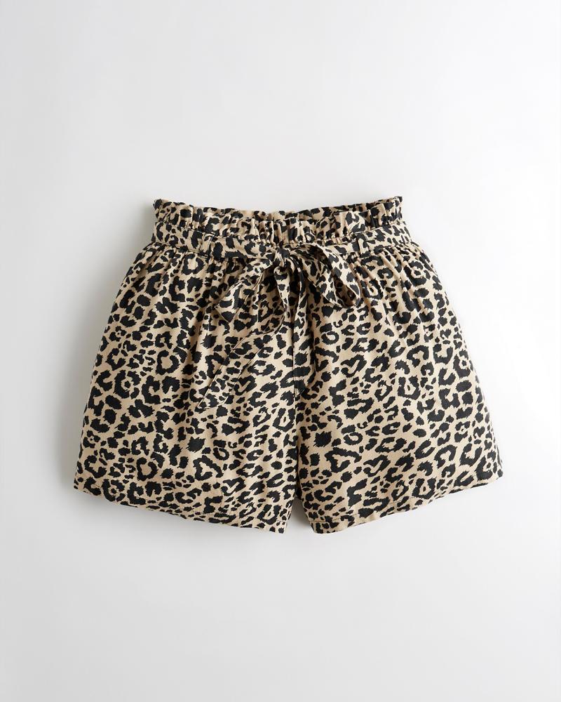 341d734e93 Girls Ultra High-Rise Paper-Bag Short | Girls Clearance | HollisterCo.ca