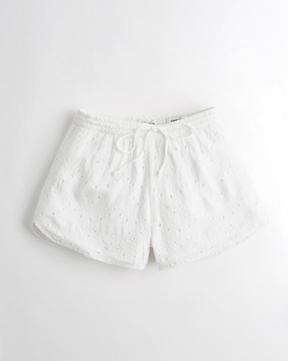 Ultra High Rise Eyelet Short by Hollister