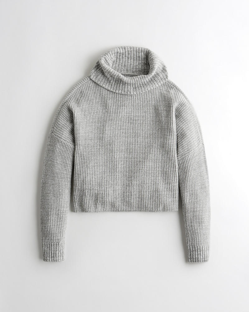 c144d14906b Girls · Sale · Tops · Sweaters. Ribbed Turtleneck Sweater