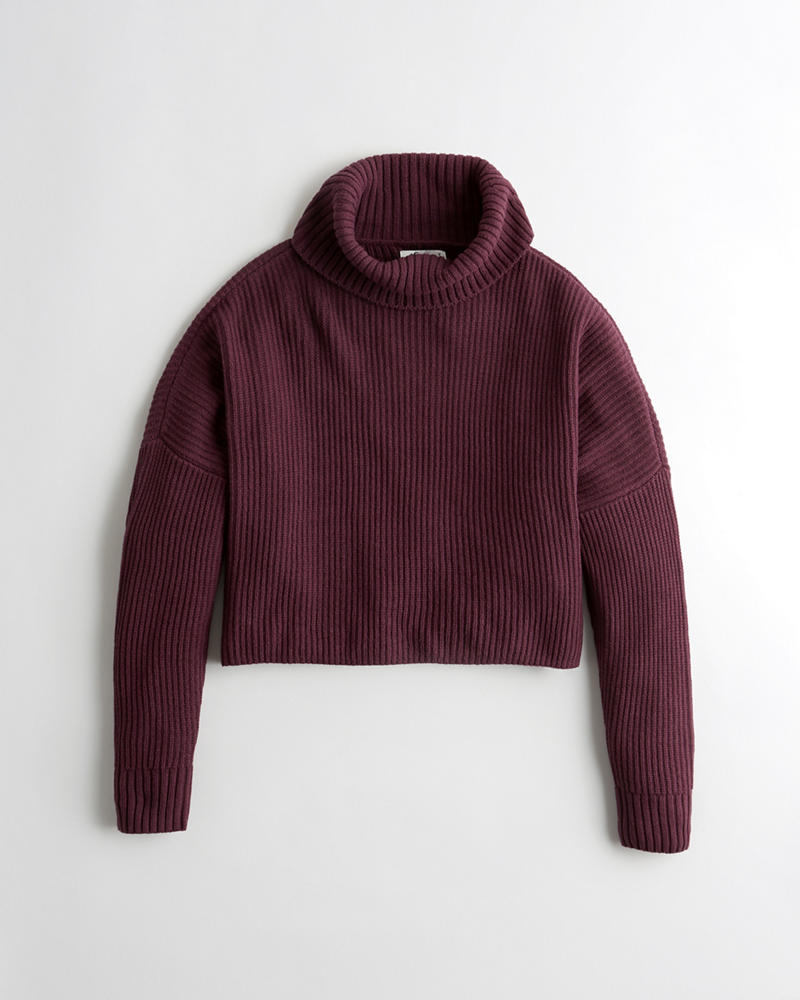 551c4c00b Hollister Ribbed Turtleneck Sweater