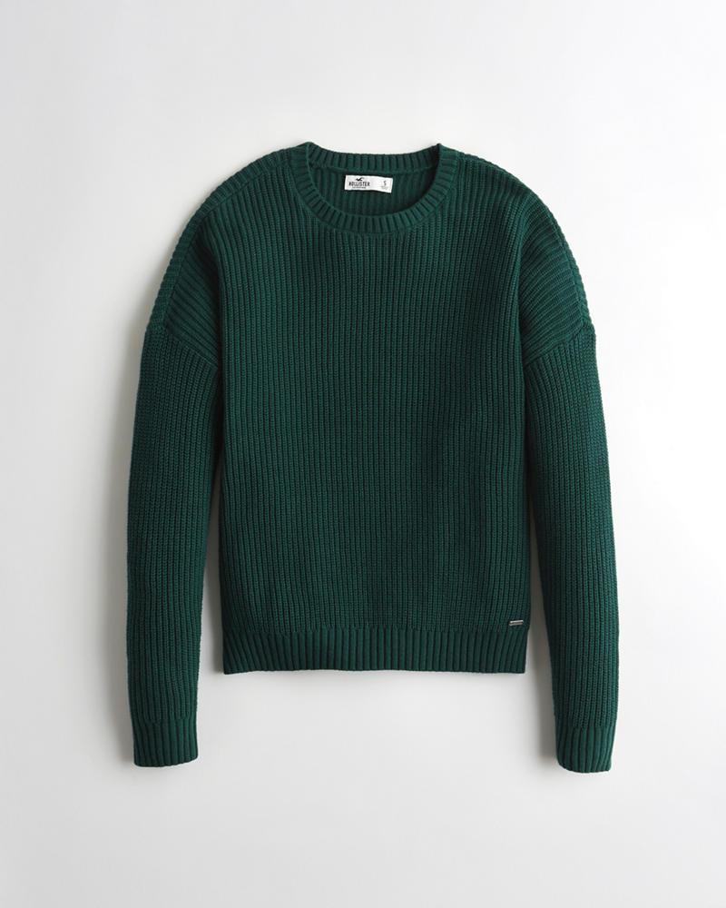 b0fe98519 Girls Crewneck Sweater | Girls Tops | HollisterCo.com