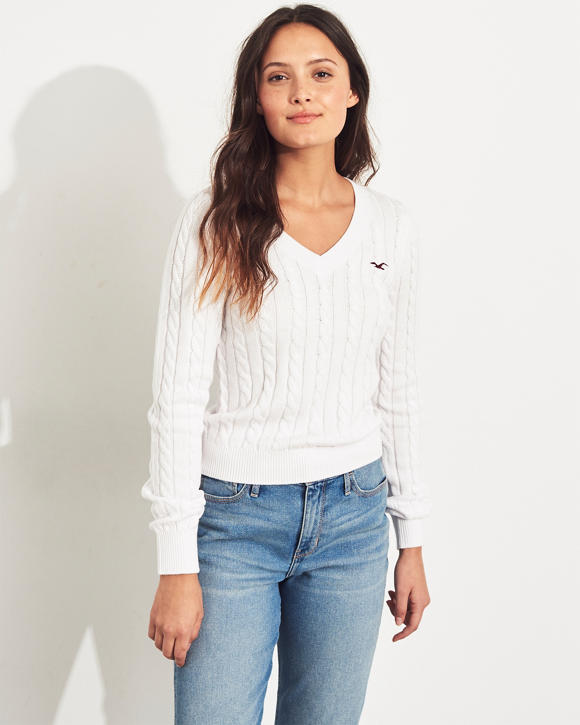 Oppsiktsvekkende Girls Sweaters Tops   HollisterCo.com JS-45