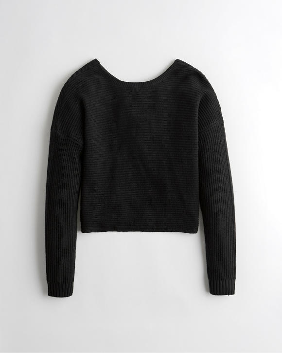 Reversible Twist Sweater by Hollister