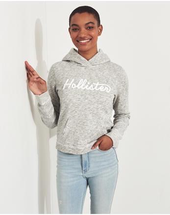 fd5c4a71f Girls Hoodies & Sweatshirts Tops   HollisterCo.com