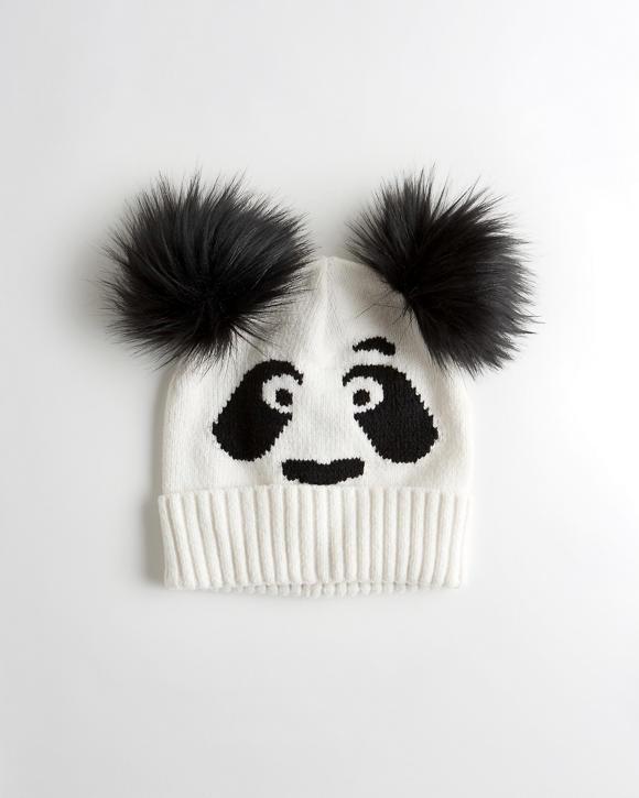Panda Beanie by Hollister