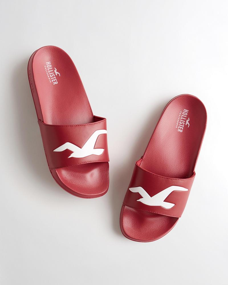 46042165003d38 Girls Logo Slide Sandal