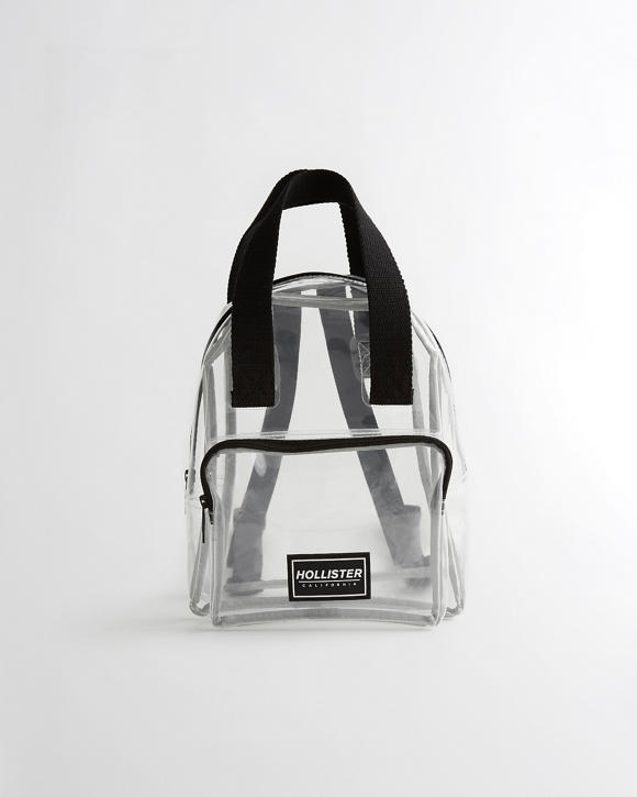 Clear Mini Backpack by Hollister