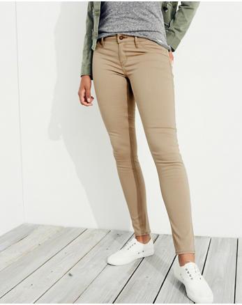 ec64523ec8a4 Classic Stretch Low-Rise Super Skinny Jeans