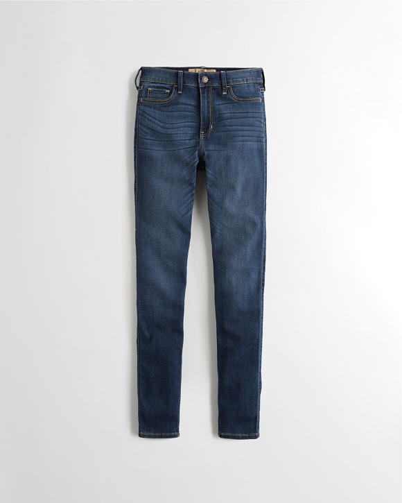 Classic Stretch High Rise Super Skinny Jeans by Hollister
