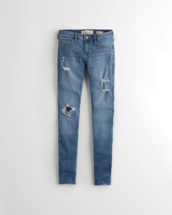 Girls Classic Stretch Low-Rise Super Skinny Jeans   Girls ...